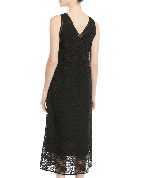 Margo Palermo Lace V-Neck Dress
