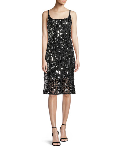 Jessie Sequined Sleeveless Dress