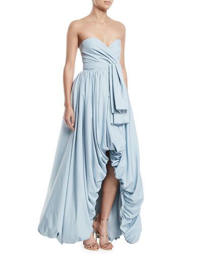 Aya Sofya Strapless Ball Gown