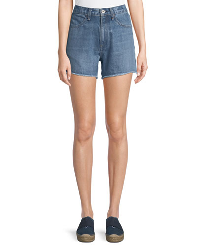 Torti High-Rise Denim Shorts