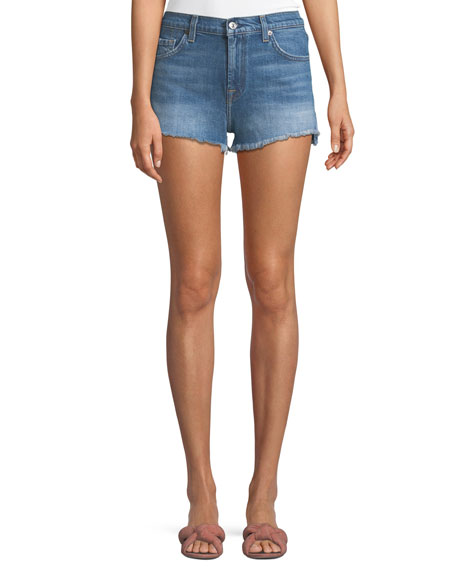 Cutoff Denim Shorts