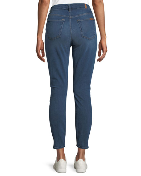 Aubrey High-Waist Skinny Ankle Jeans