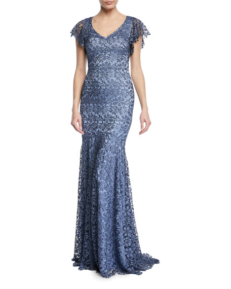Guipure Lace Mermaid Gown