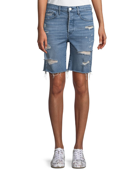 3x1 W3 Ryder Knee-Length Shorts