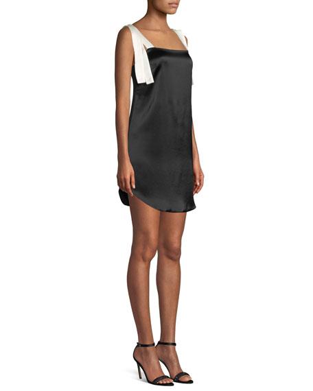 Ines Bow-Tie Mini Tank Cocktail Dress