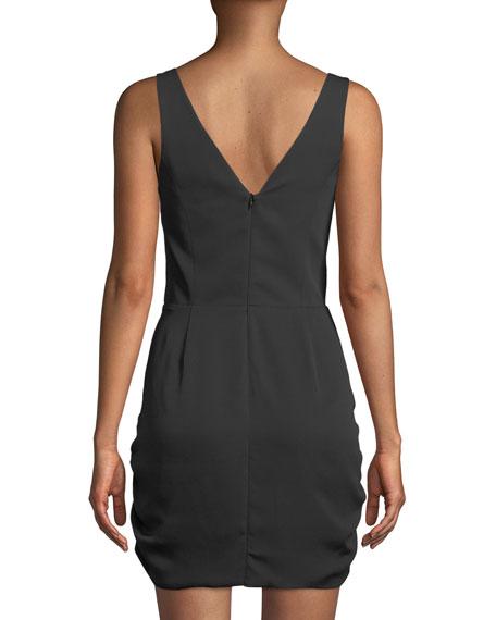 Silvie Ruched Sleeveless Mini Dress