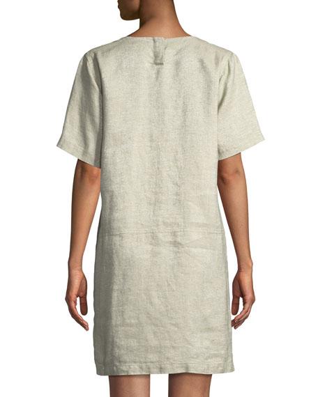 Twinkle Organic Linen Shift Dress