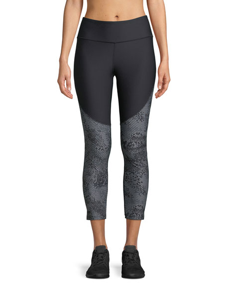 Balance Vanish Printed Cropped Performance Leggings