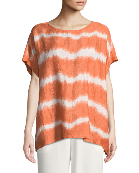 Elysa Striped Easy Top
