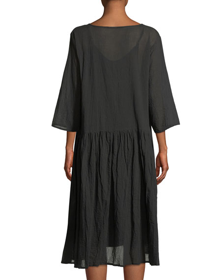 Neoma Cotton Voile Drama Dress