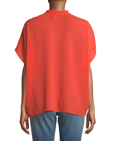 Kiko V-Neck Short-Sleeve Top