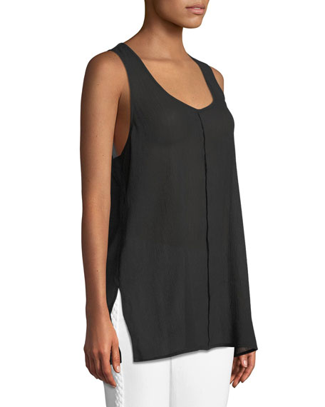 Indy Sleeveless Seamed Racerback Top