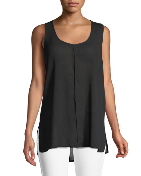 J Brand Indy Sleeveless Seamed Racerback Top