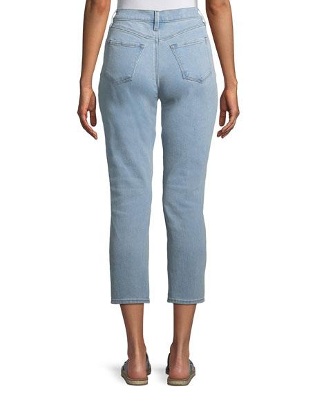 Ruby High-Rise Crop Cigarette Jeans