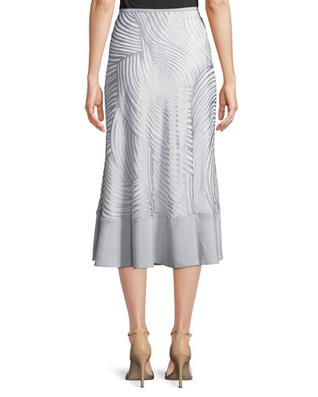 Bohemian Groves A-line Skirt, Plus Size