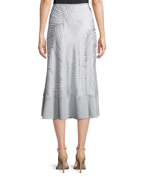Bohemian Groves A-line Skirt, Petite