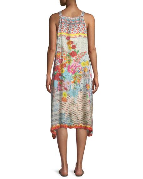 Lomi Sleeveless Tank Dress, Plus Size