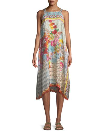 Lomi Sleeveless Tank Dress, Petite