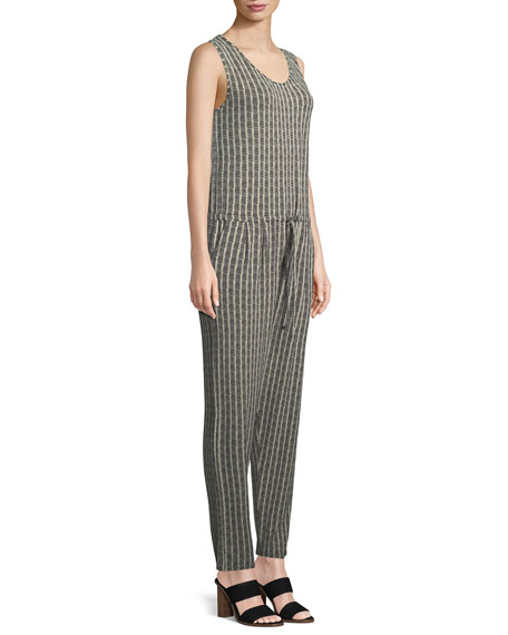 Olly Sleeveless Jersey Printed Jumpsuit
