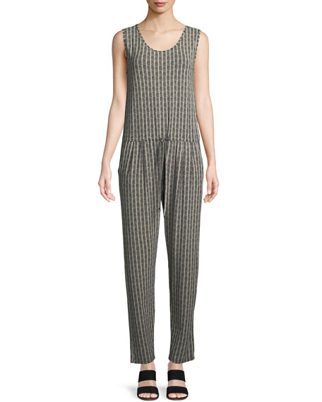 Masai Olly Sleeveless Jersey Printed Jumpsuit