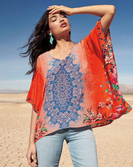 Briyana Handkerchief-Hem Tunic
