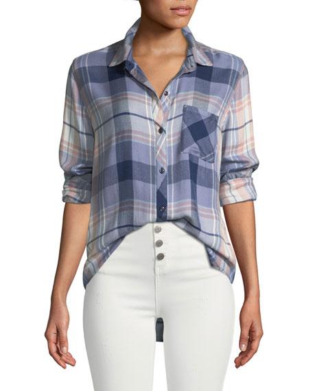 Hunter Plaid Button-Down Shirt