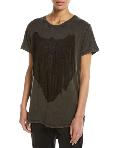 Fringe Longhorn T-Shirt