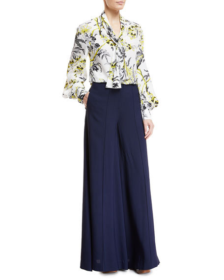 High-Waist Wide Palazzo Pants