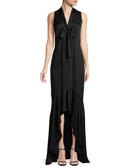 Mayburn Sleeveless High-Low Gown