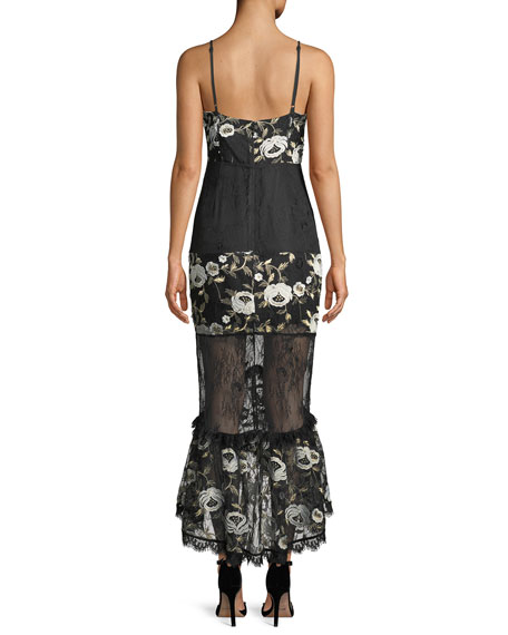 Jacquie Floral Sleeveless Sheath Dress