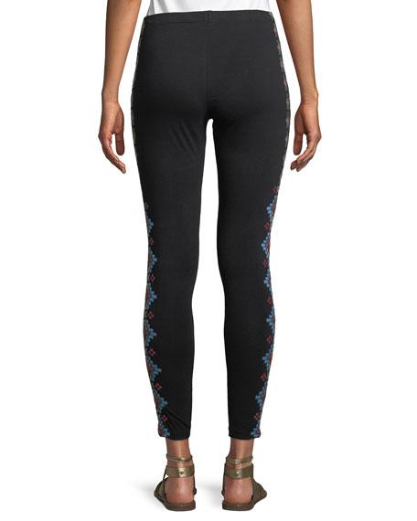 Sonoma Embroidered Leggings, Plus Size