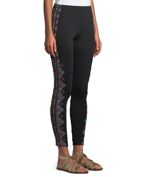 Sonoma Embroidered Leggings, Plus Size