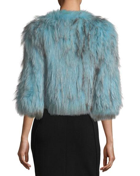 Silver Fox Short Bolero Coat