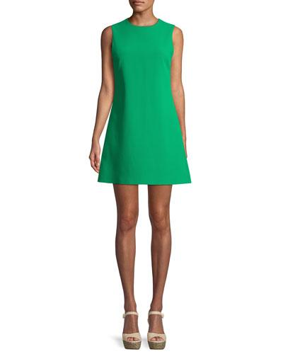 Coley Sleeveless Crewneck Mini Dress