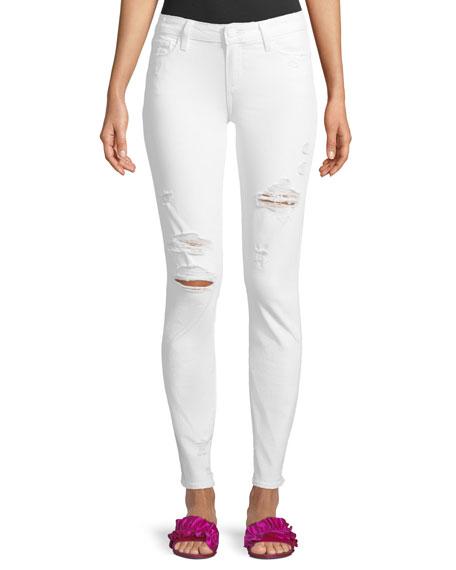 PAIGE Skyline Mid-Rise Skinny-Leg Jeans