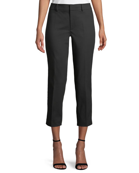 Club Monaco Remi Cropped Straight-Leg Pants