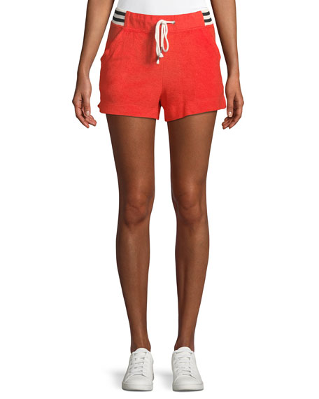 Splendid Sportivo Drawstring Terry Shorts