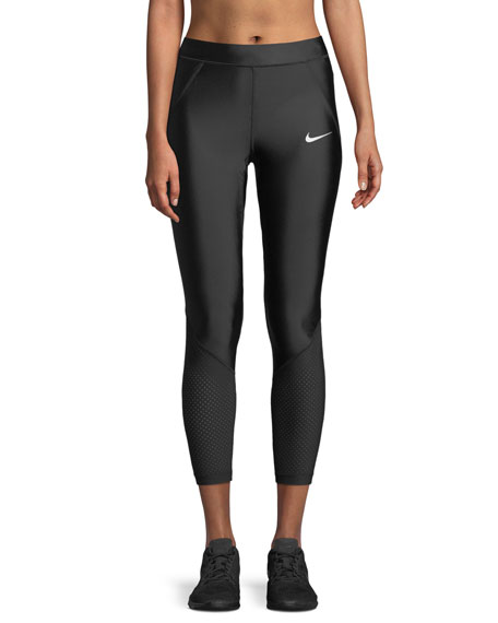 Nike Speed 7/8 Mesh-Panel Running Tights