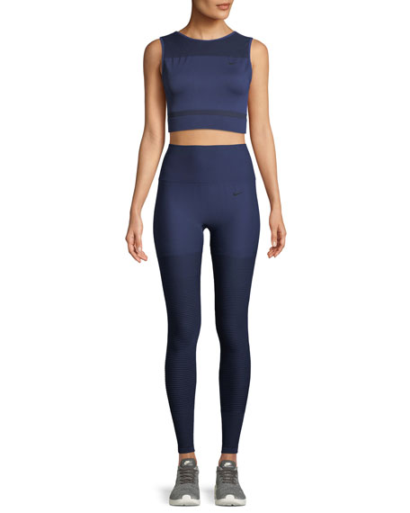 Seamless High-Rise Performance Leggings