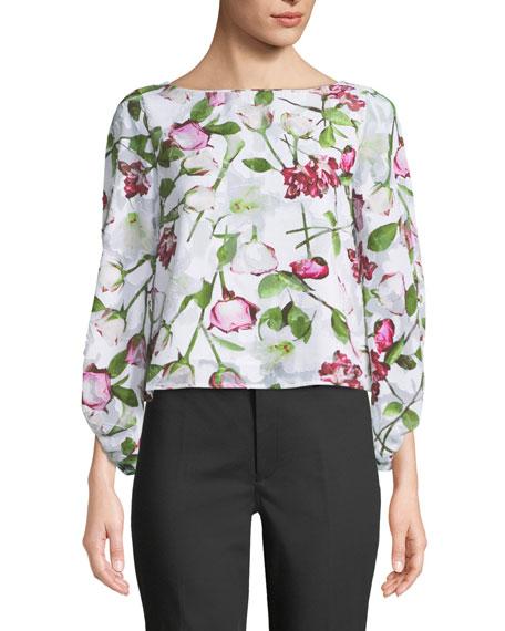 Valterra Floral-Print Long-Sleeve Top