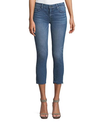 Skyline Skinny-Leg Crop Jeans