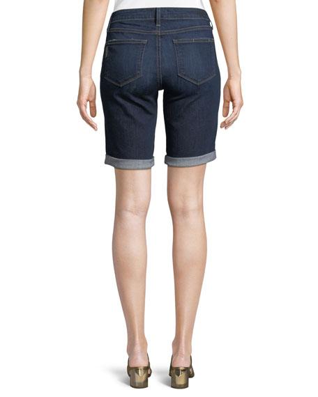 Jax Knee-Length Denim Shorts