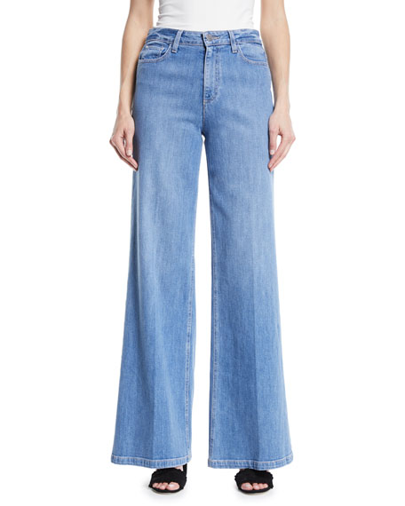 PAIGE Sutton High-Rise Wide-Leg Jeans