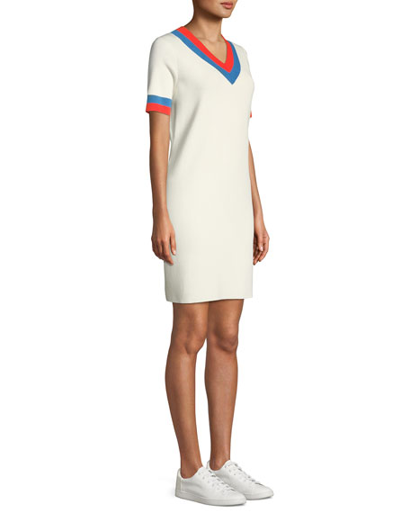 The Serena V-Neck Cashmere Dress