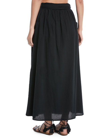 Nicola Organic Cotton A-Line Skirt