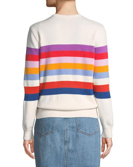The Day Trip Striped Crewneck Sweater