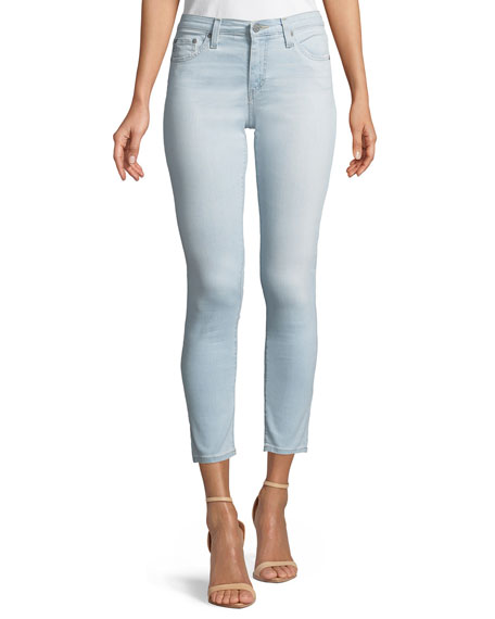AG Adriano Goldschmied Mid-Rise Super Skinny Ankle Legging