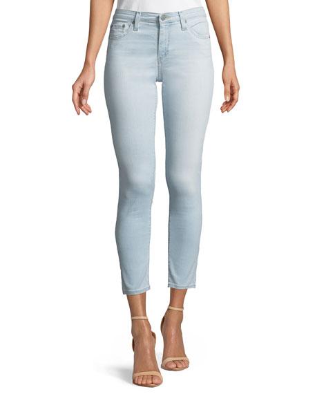Mid-Rise Super Skinny Ankle Legging Jeans