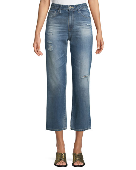 Rhett Straight-Leg Ankle Jeans