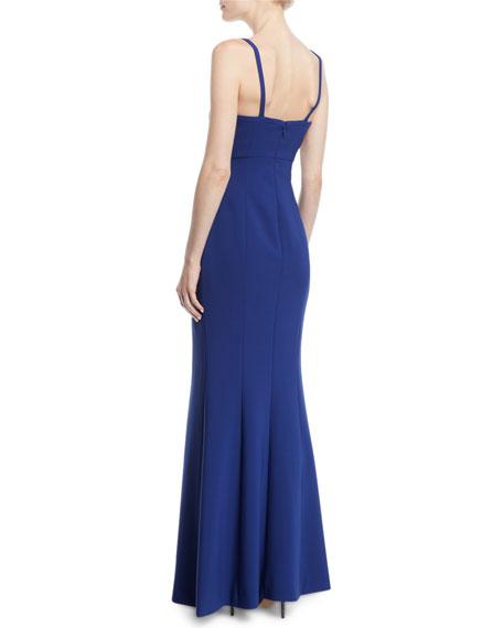 Alameda Sleeveless Corset Slip Gown